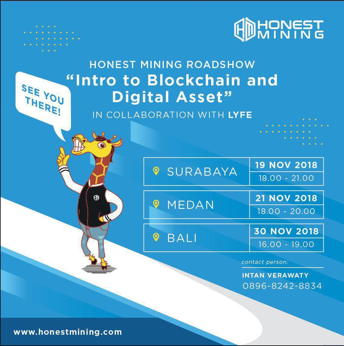 Honest Mining Indonesia Roadshow