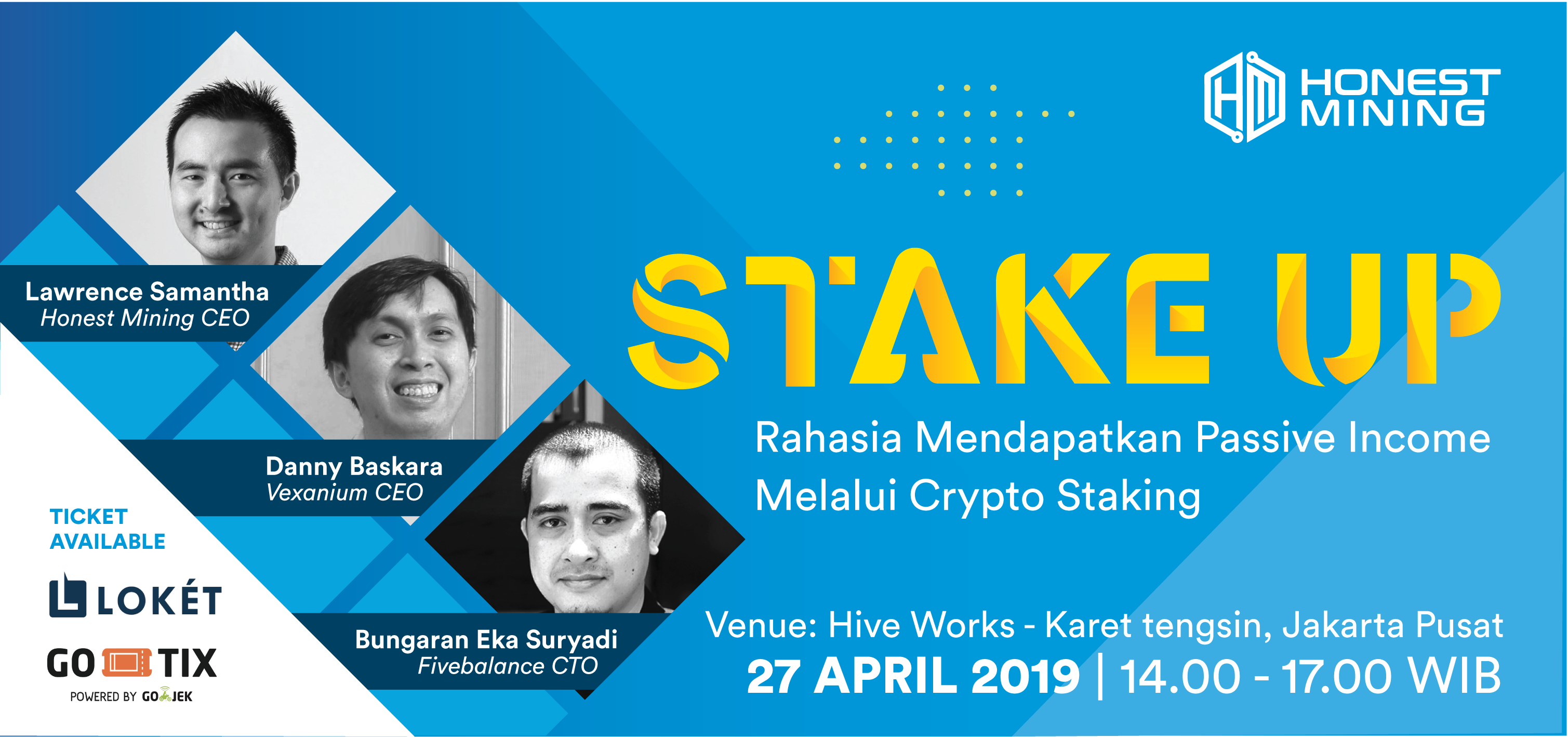 Stake Up: Community Event from Honest Mining