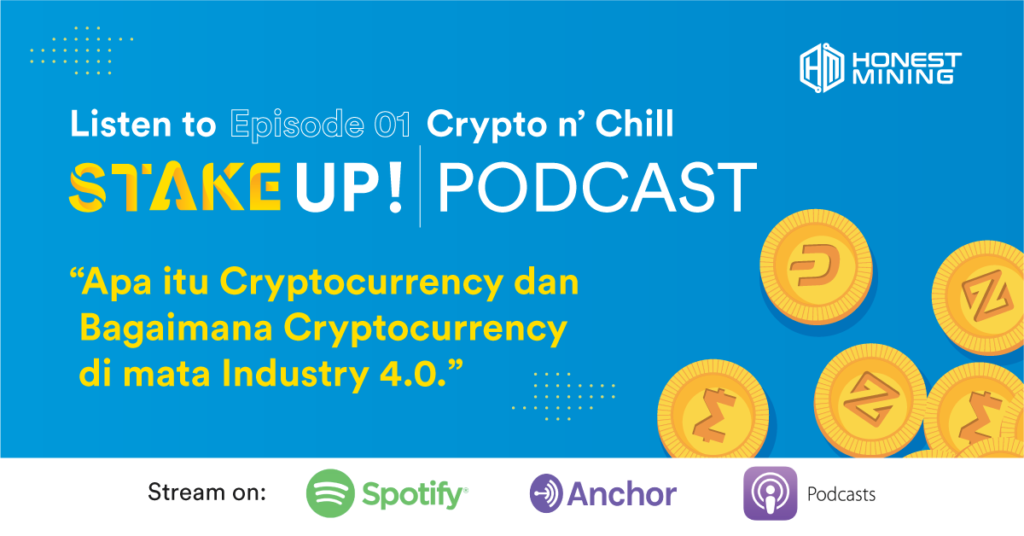 Crypto n' Chill with STAKE UP PODCAST! by Honest Mining