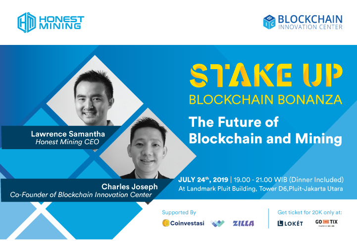 STAKE UP! Blockchain Bonanza