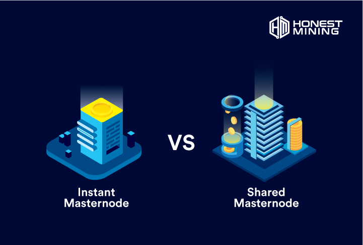 instant vs shared masternode
