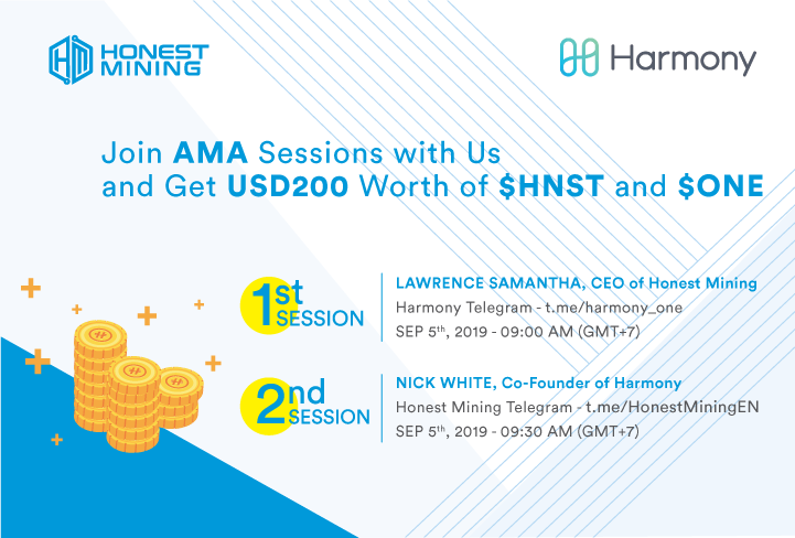 Harmony (ONE) AMA on Honest Mining