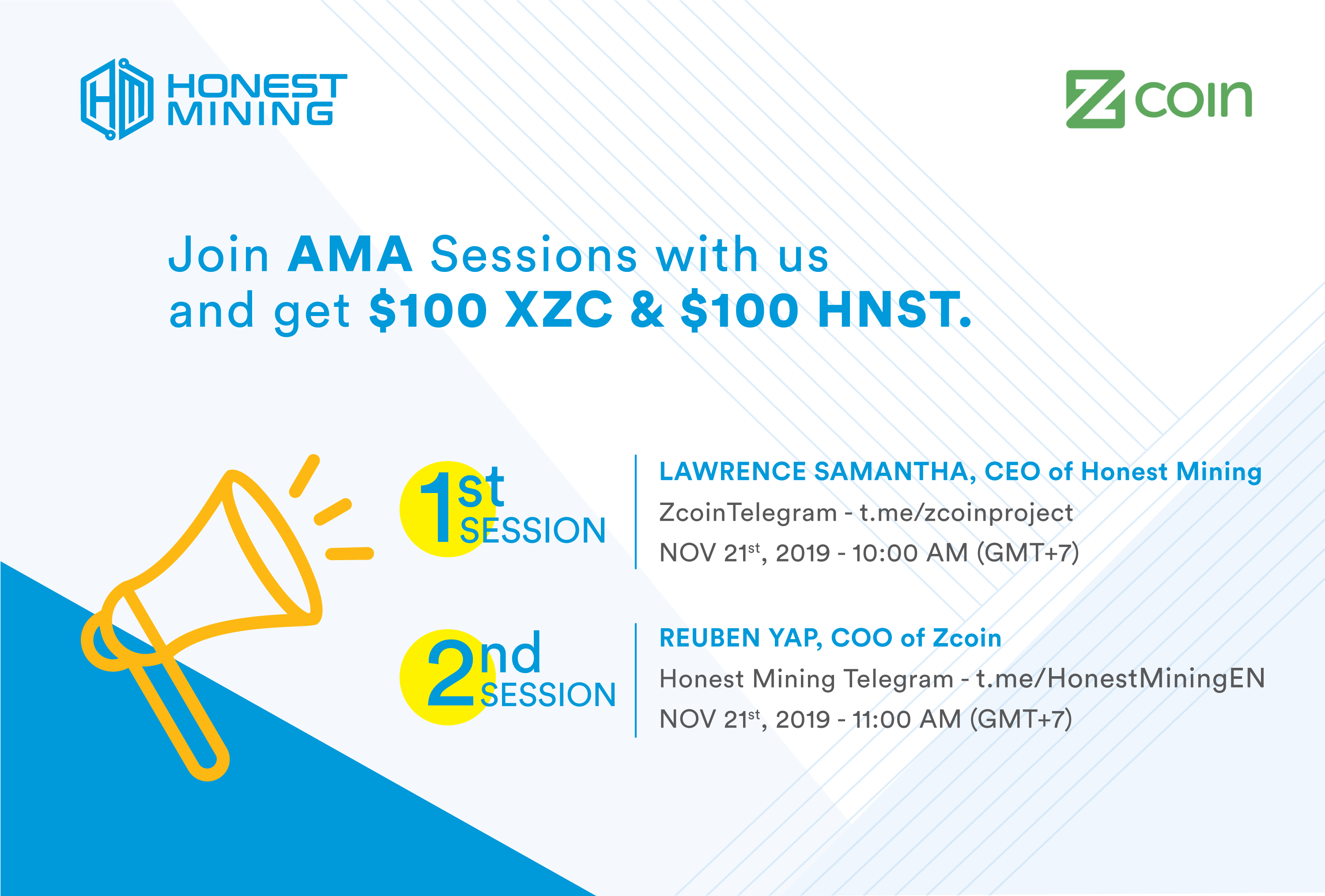 Honest Mining AMA Session with Zcoin