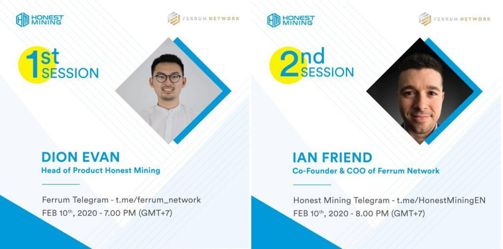 Honest Mining AMA with Ferrum Detail