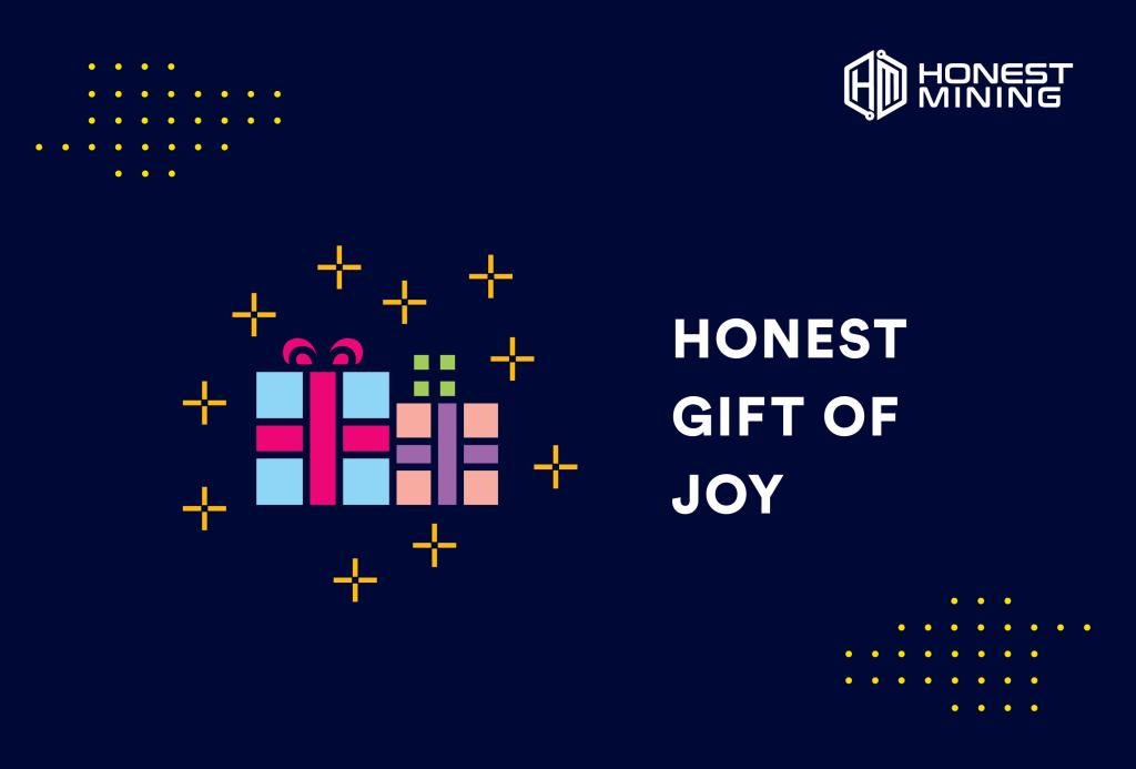 Honest Mining Gift of Joy Christmas Giveaway