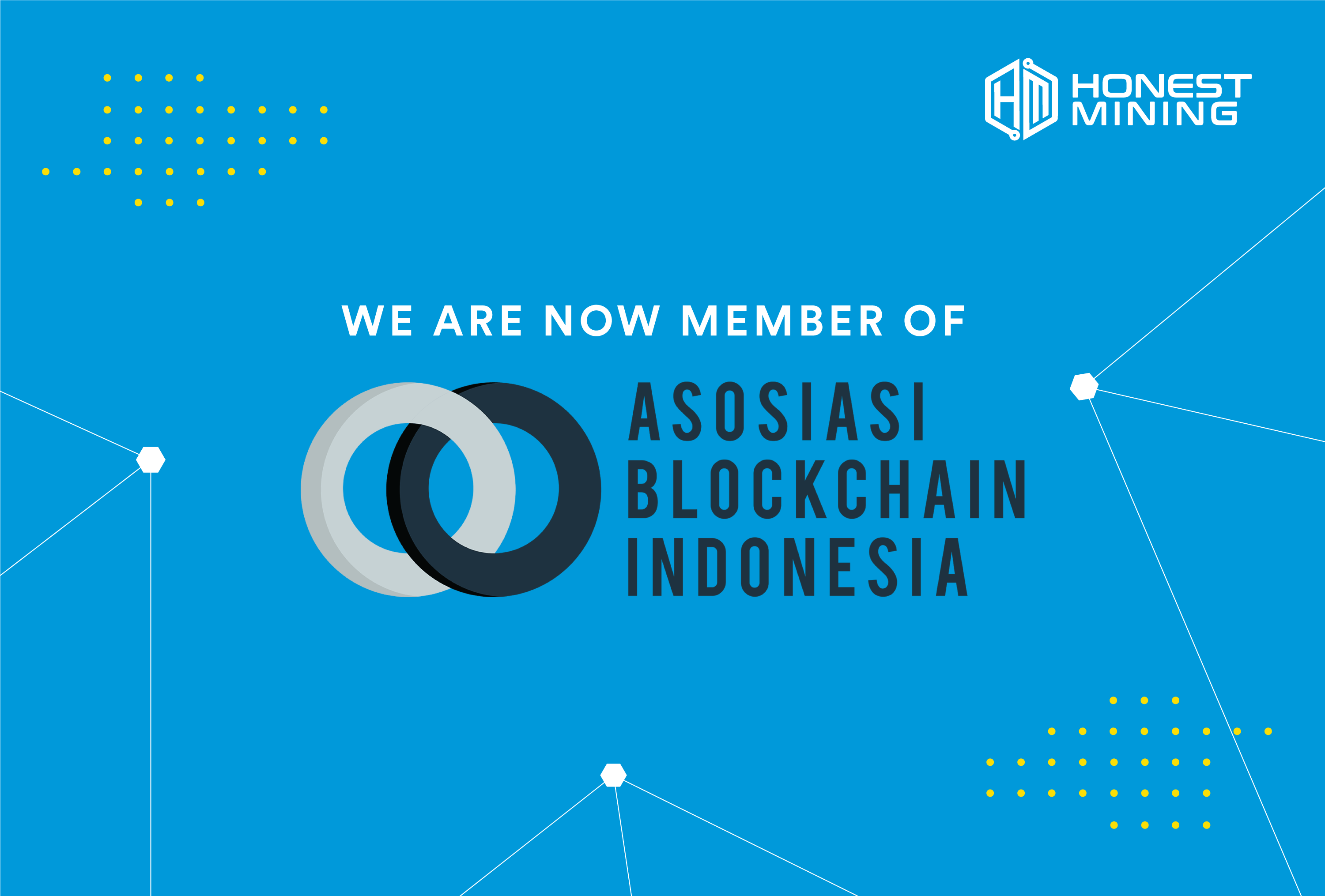 We are Now Member of Indonesian Blockchain Association