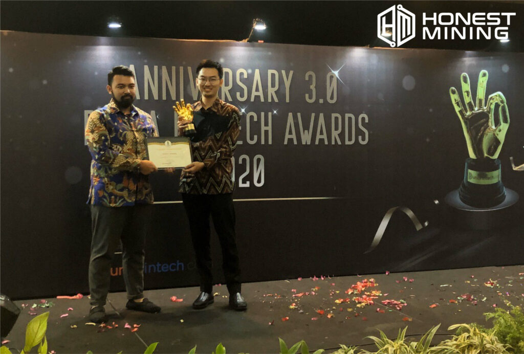 Honest Mining Get Award From Dunia Fintech