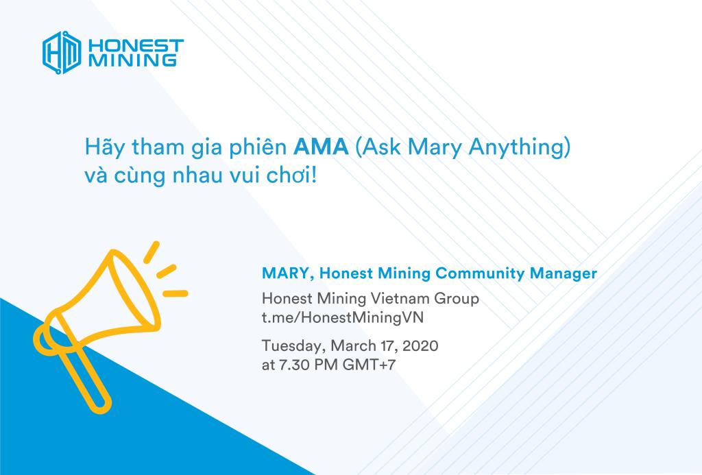 Honest Mining AMA Vietnam