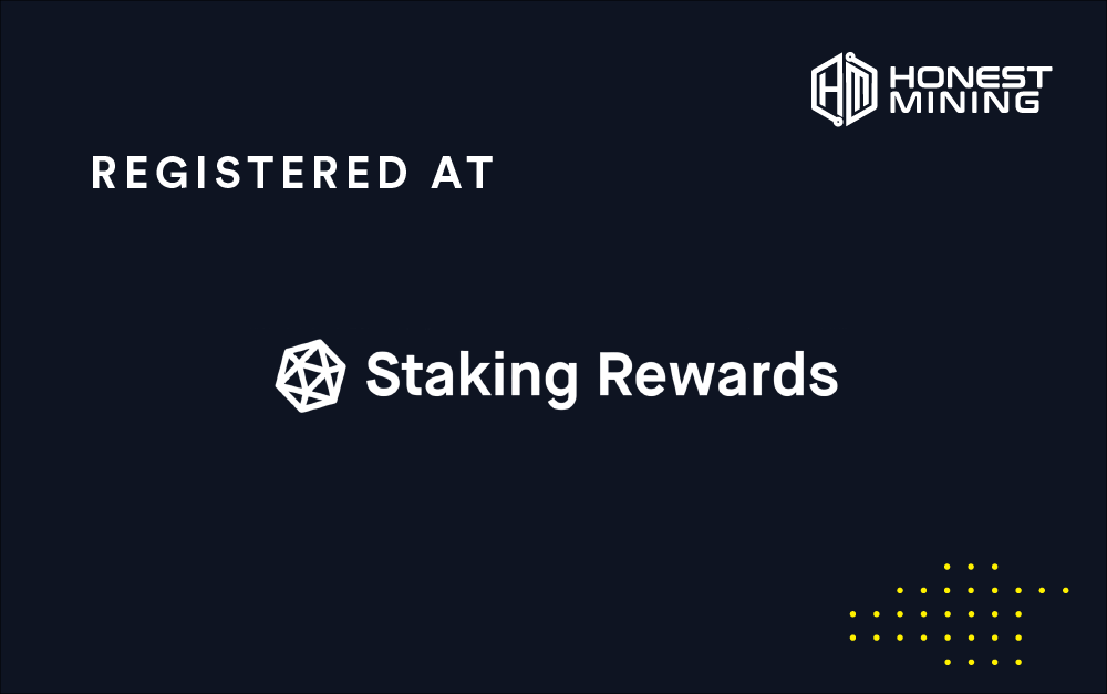 Honest Mining is now on Staking Rewards
