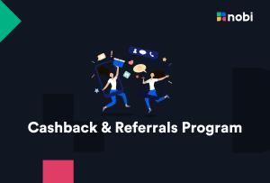 NOBI Cashback & Referral Program