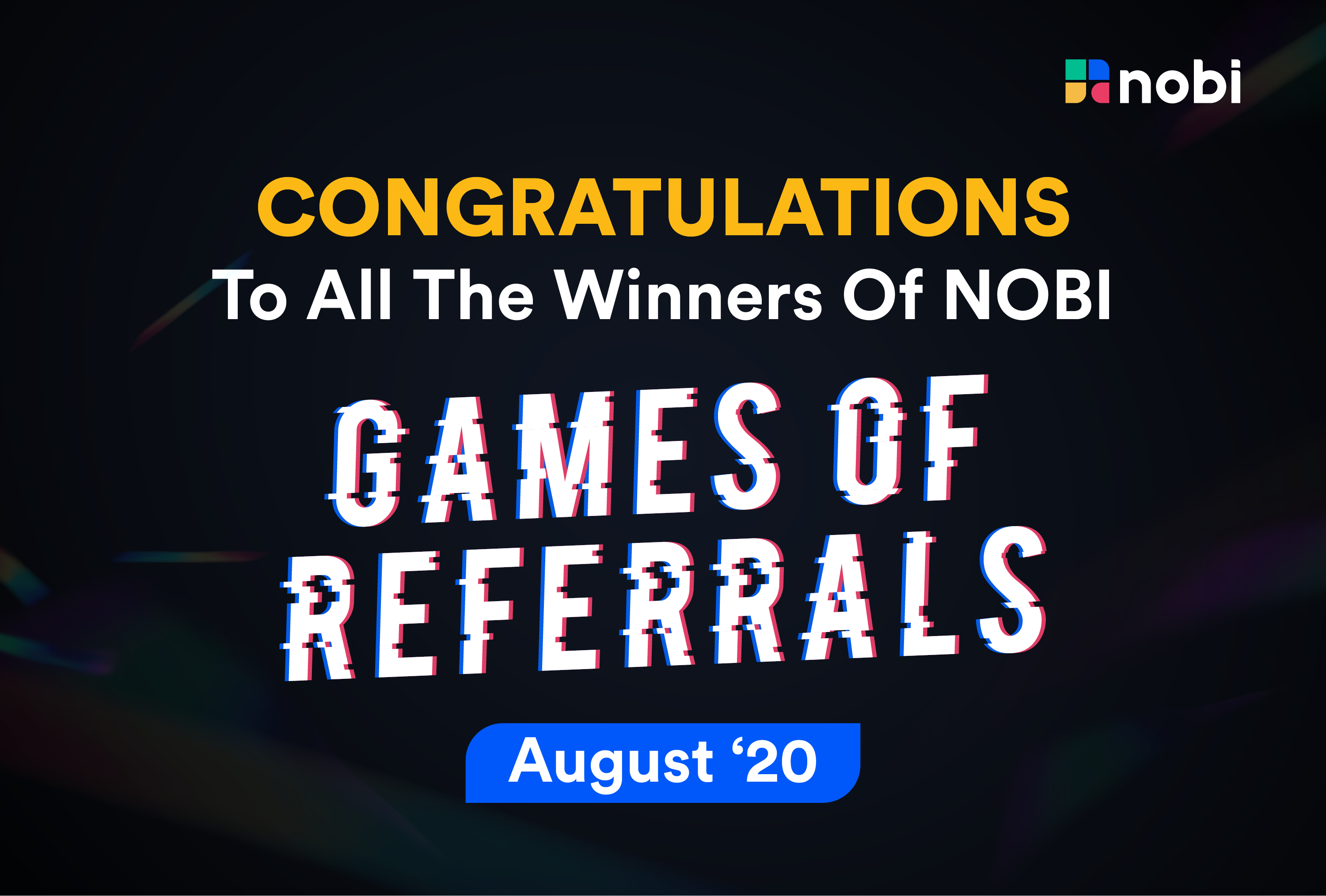NOBI Games of Referrals
