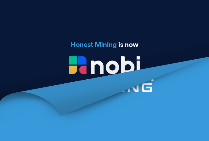 Honest Mining is now NOBI