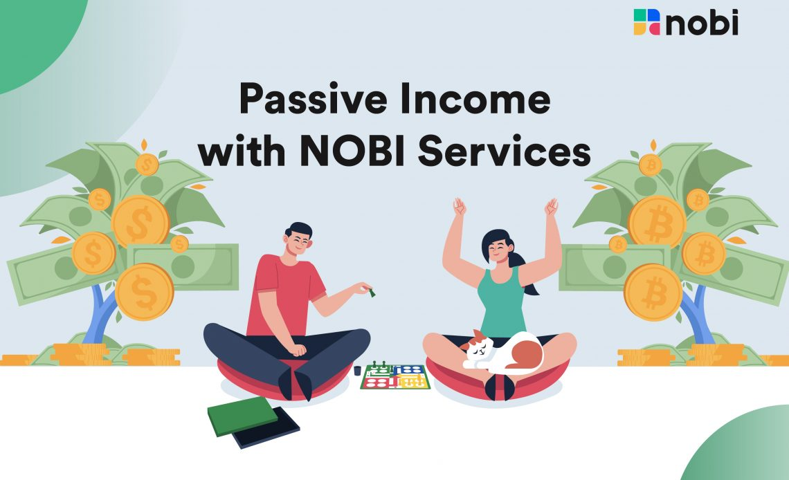 Passive income from your cryptos with NOBI Services